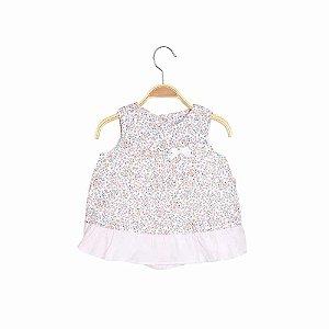 Vestido Bebê Costas Transpassada Liberty - Keko