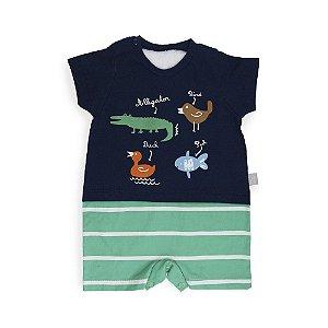 Macacão Bebê Animais - Keko Baby