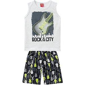 Conjunto Infantil Masculino Rock A City - Kyly