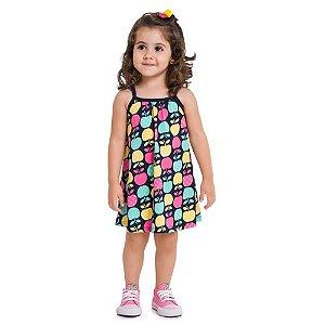 Vestido Infantil Maçã - Kyly