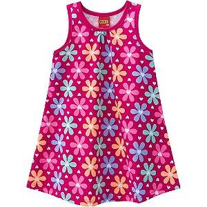 Vestido Infantil Flores - Kyly