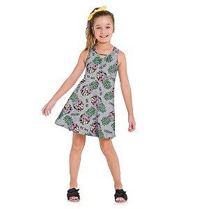 Vestido Infantil Feminino Abacaxi - Kyly