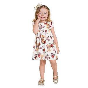 Vestido Milon Bebê - Malha Trabalhada