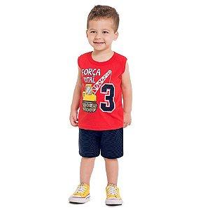 Conjunto Infantil Masculino Força Total - Kyly