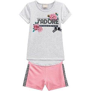 Conjunto Infantil Feminino Jadore - Milon