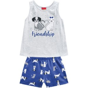 Conjunto Infantil Feminino Friendship - Kyly