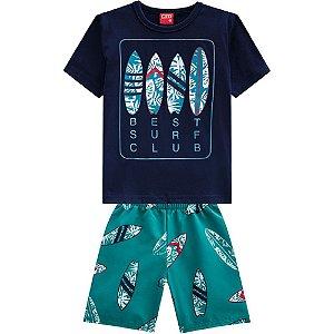 Conjunto infantil masculino surf - Kyly