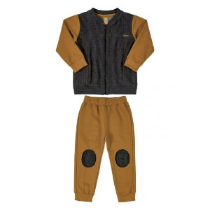 Conjunto Infantil Masculino Moletom Jaqueta e Calça  - UP BABY