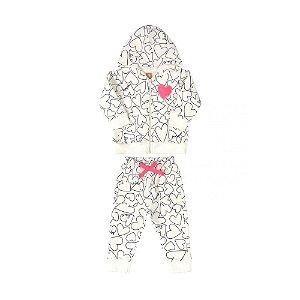 Conjunto  em Molecotton - UP Baby Infantil Feminino