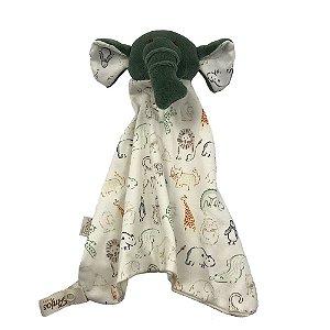 Naninha Carinha de Elefante Trombinha (Verde)
