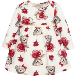 Vestido Infantil Ursinho - Milon