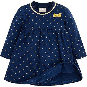 Vestido Bebê Cotton - Milon