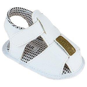 Sandália Masculina Bebê Branco