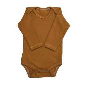 Body Manga Longa Liso Copper - Deka Baby & Kids Multimarcas