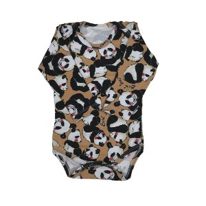 Body Manga Longa Estampa de Panda - Deka Baby & Kids Multimarcas