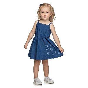 Vestido Infantil Jeans - Elian