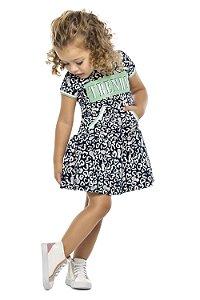 Vestido Infantil Feminino Moletinho Thends