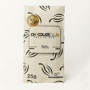 Chocolate da Ju 70% 25g - CHOCOLATE DA JU