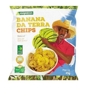Banana da Terra Chips Natural 45 g