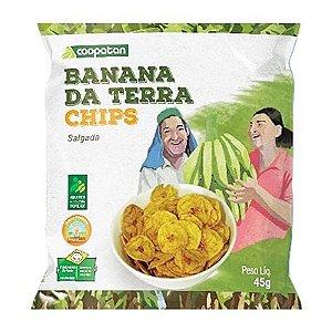Banana da Terra Chips Salgada 45 g