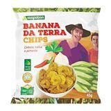 Banana da Terra Chips com Salsa, Pimenta e Cebola 45 g
