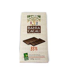 Barra de Chocolate 35% 80g - BAHIA CACAU