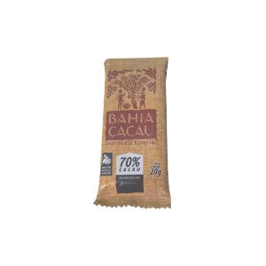 Barra de Chocolate Bahia Cacau 70% 20 g