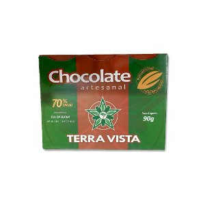 Chocolate Artesanal Terra Vista 70% 90 g