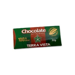 Chocolate Artesanal Terra Vista 100% 30 g