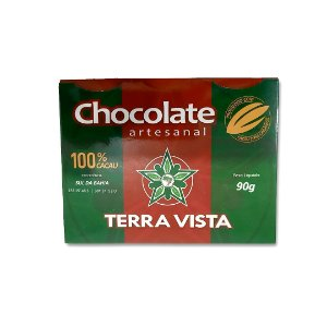 Chocolate Artesanal Terra Vista 100% 90 g