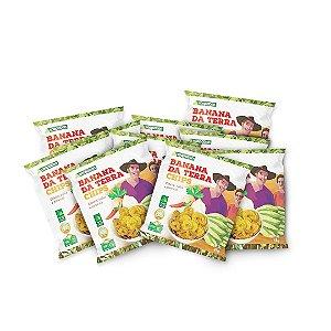 Banana da Terra Chips com Salsa, Pimenta e Cebola 45 g - 10 unid