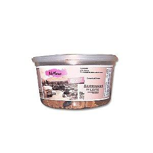 Barrinha de Leite com Nibs 250 g