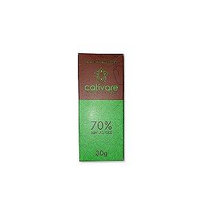 Barra de Chocolate Especial Cultivare 70% 30 g