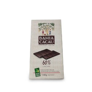 Barra de Chocolate Bahia Cacau 60% 80 g