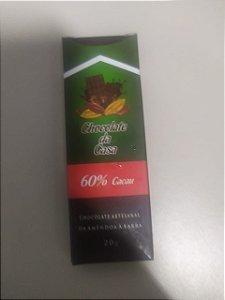 Chocolate Artesanal Chocolate da Casa 60%