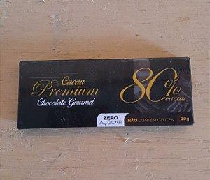 Chocolate Premium 80% Zero Açúcar