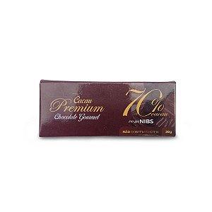 Chocolate Premium 70% Nibs