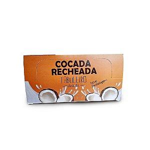 Cocada Recheada Tabuleiro Deleite Display 600g (12 unidades)