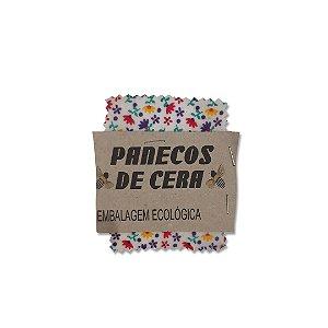 Kit com 3 Embalagens Ecológicas Estampa Florzinha