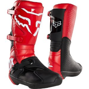 BOTA MOTOCROSS FOX COMP FLAME RED (VERMELHA) TAM 11 (42/43)