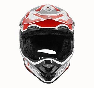 CAPACETE MOTOCROSS MATTOS RACING MX PRO MTTR VERMELHO TAM 58