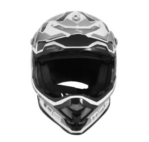 CAPACETE MOTOCROSS MATTOS RACING MX PRO MTTR CINZA TAM 58
