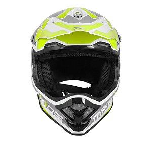 CAPACETE MOTOCROSS MATTOS RACING MX PRO MTTR AMARELO TAM 58