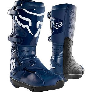 BOTA MOTOCROSS TRILHA FOX MX COMP NAVY AZUL TAM 12 (42/43)