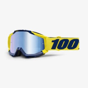 OCULOS 100% TRILHA MOTOCROSS ACCURI SUPPLY AMARELO