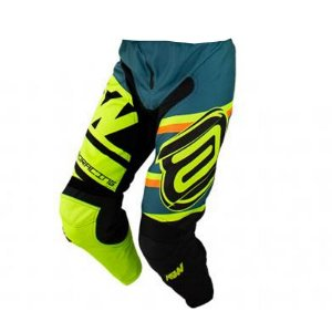 CALCA MOTOCROSS ASW IMAGE STAGES VERDE AMARELO FLUOR TAM 46