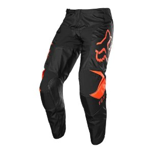 CALCA MOTOCROSS FOX MX CALCA 180 PRIX PRETO LARANJA TAM 46