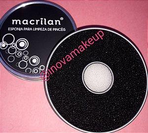 Esponja para limpeza de Pincel - Macrilan