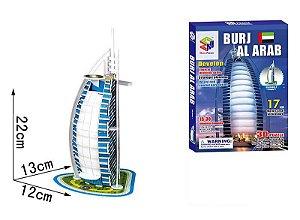 Quebra-cabeça 3d Burj Al Arab - Dubai