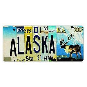 Placa Decorativa de Carro em MDF - Alaska